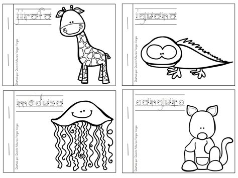 libro dibujo pdf mi libro de colorear de animales salvajes 2 imagenes educativas