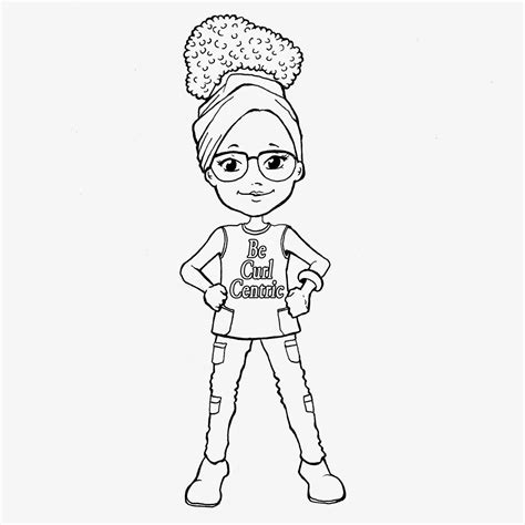 natural hair coloring pages becurlcentric curly kids coloring book review interview