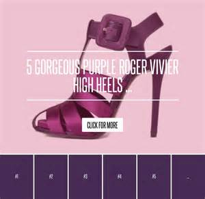 Lepaparazzi News Update Will Hathaway Quit Acting 5 gorgeous purple roger vivier high heels shoes