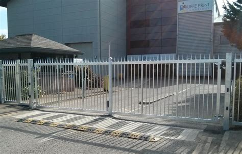 commercial swing gate climate auto gates commercial swing gates