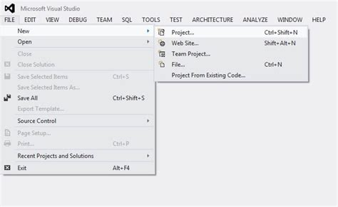 tutorial visual studio 2012 database project ssdt sql project using visual studio 2012