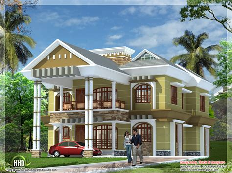 luxury villa house plans september 2012 kerala home design and floor plans