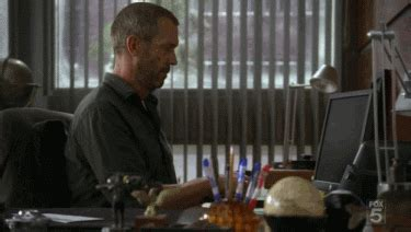 house gif working dr house gif find share on giphy