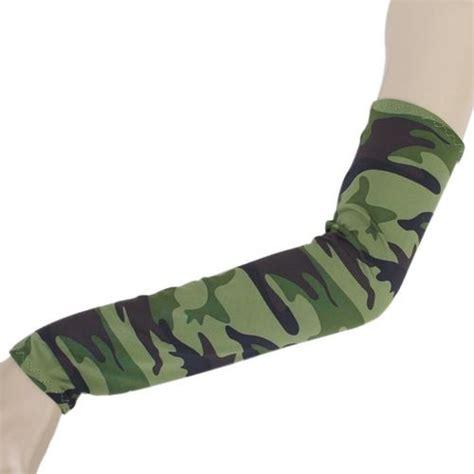 hi cool arm uv protection cover sarung pelindung lengan army green jakartanotebook