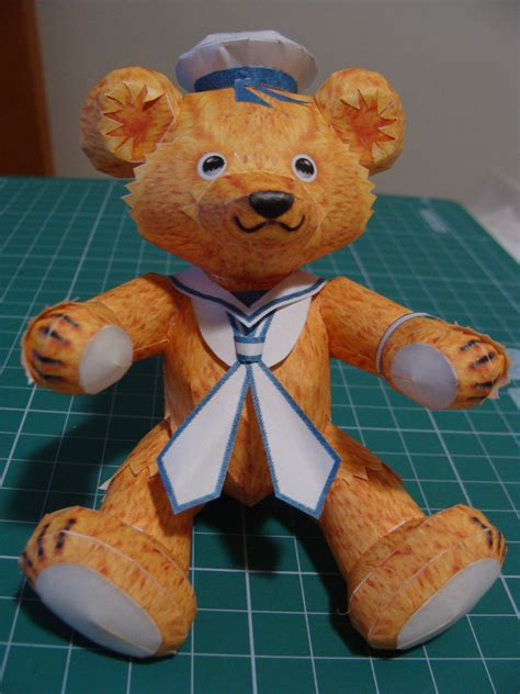 Teddy Papercraft - sailor teddy papercraft by bslirabsl on deviantart