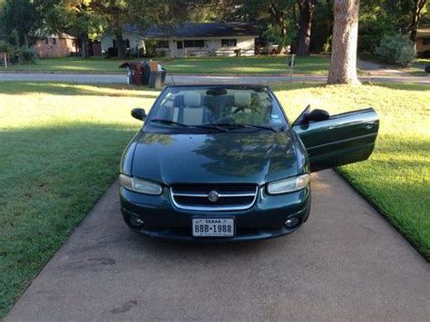 purchase used 1997 chrysler sebring jxi convertible 2 door 2 5l in palestine texas united