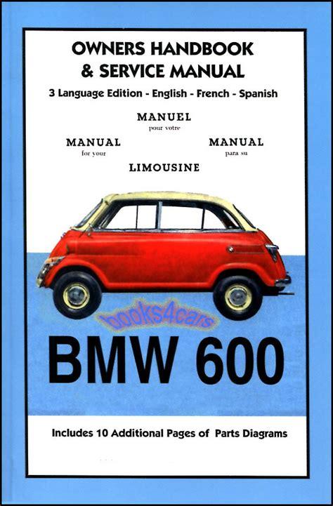 online auto repair manual 1959 bmw 600 instrument cluster service manual service and repair manuals 1959 bmw 600 regenerative braking service manual