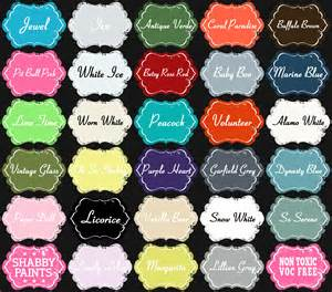 new shabby paint colors shabby paints