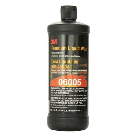 Liquid Premium Class 3m premium liquid wax 06005 32 oz