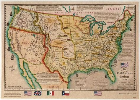 map of texas 1845 1845 texas usa map and decoration