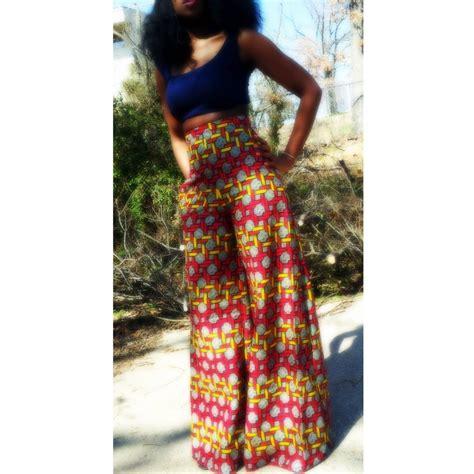 African Print High Waist Pants   www.pixshark.com   Images