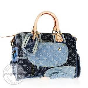 Louis Vuitton Patchwork Bag - louis vuitton limited edition blue monogram denim