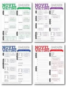 Writing A Book Template by Novel Writing Templates V2 Character Sheet Tips And Book