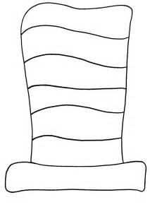 cat in the hat coloring page best photos of free template of dr seuss cat in the hat