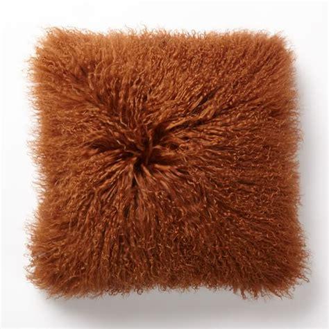 mongolian pillow cover copper square west elm