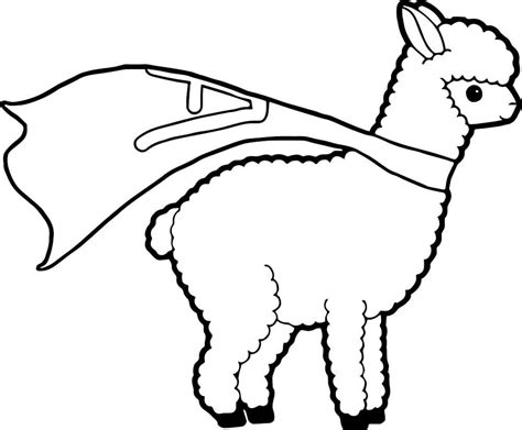 free coloring pictures alpaca coloring pages free printable alpacas coloring pages