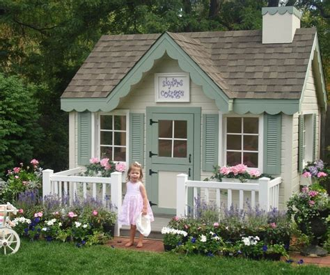 Cottage Playhouses by Cottage Playhouse