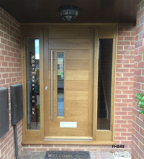 exterior front doors uk contemporary front doors with sidelights model 026