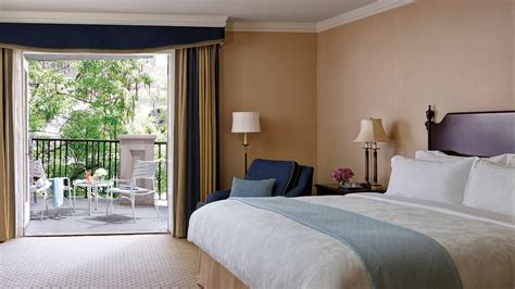 rooms images luxury pool view hotel room with balcony la the langham