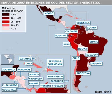 los problemas ambientales en las ciudades atajo avizora emisiones de co2 en am 233 rica latina y el caribe atajo