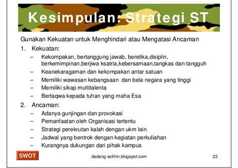 analisis swot untuk penyusunan strategi upload share analisis swot untuk memenangkan pertempuran