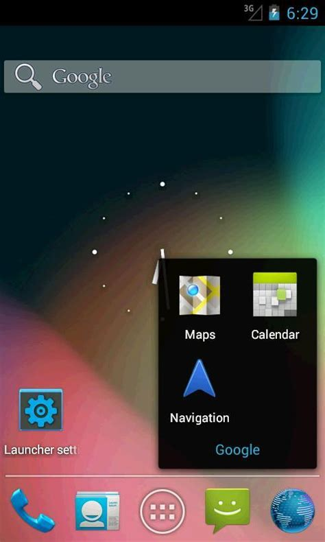 ics apk holo launcher for ics apk free personalization