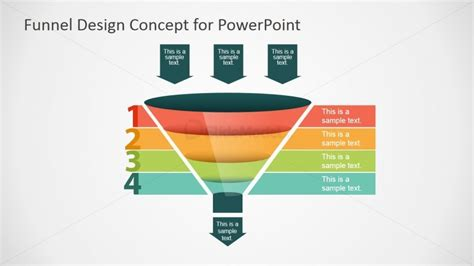 Ff0025 01 Funnel Concept 2 Slidemodel Funnel Graphic Powerpoint