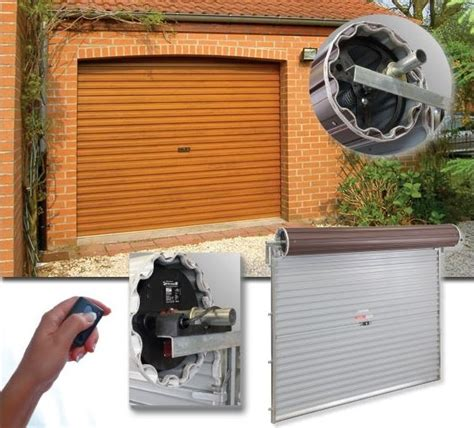 A Range Of Gliderol Electric Roller Doors Roller Garage Electric Roller Garage Door Kits