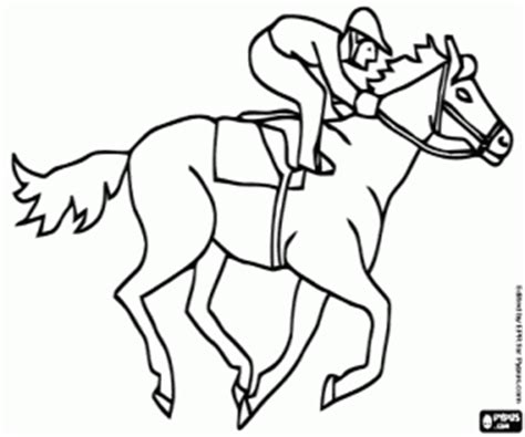 equestrian sports coloring pages printable games