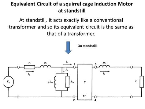 equivalent circuit of induction heating three phase induction motors ppt