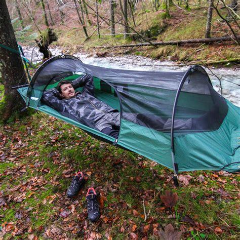 tenda amaca flying tent hammock geniusgadget