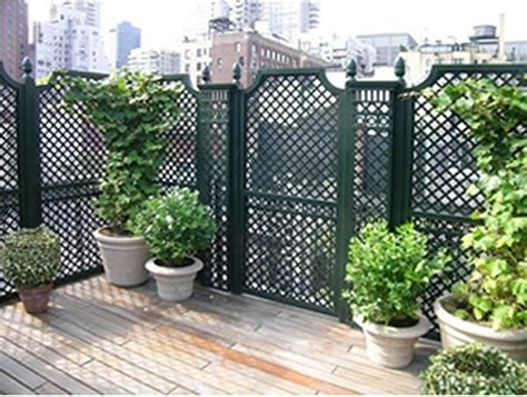Outdoor Privacy Trellis outdoor wood privacy trellis home fencing and gates chicago by home infatuation