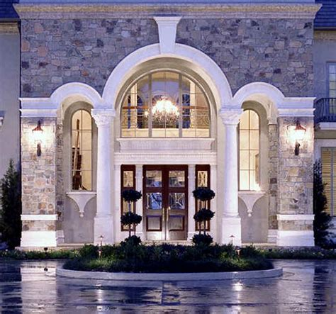 French Country Entryway Ideas Custom Architectural Period Details Historic Traditional