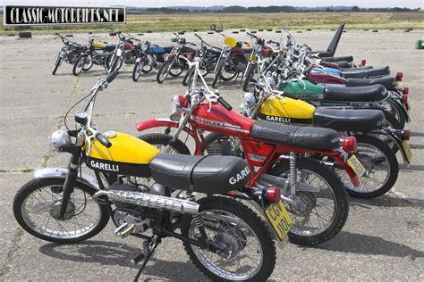 Gilera 50ccm Motorrad by 1970s Moped Shootout Classic Motorbikes