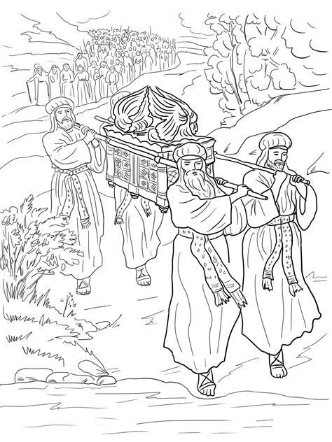 Joshua 7 Coloring Pages by Desenho De Travessia Do Jord 227 O Para Colorir Tudodesenhos