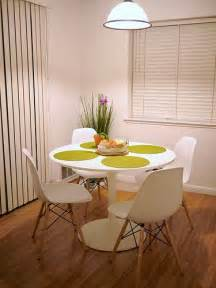 docksta table eames chairs
