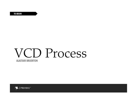 design process for visual communication visual communication design process