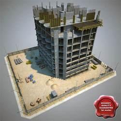 building construction 3d model