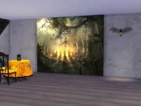 neferu s halloween wall mural neferu s halloween wall mural