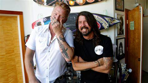 dave grohl and josh homme on cal jam rock n roll and