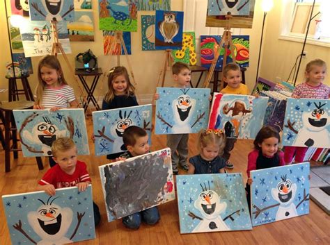 paint nite fails irti picture 8263 tags kid painting frozen