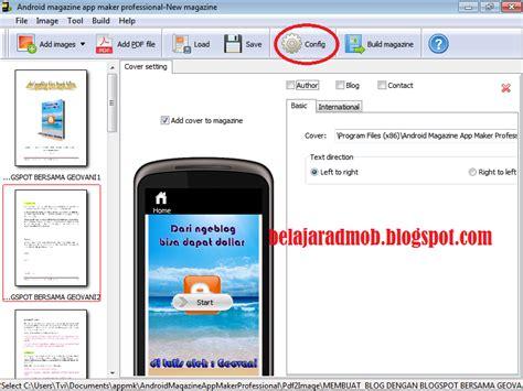 membuat aplikasi registrasi android cara membuat aplikasi android berbentuk ebook belajar admob