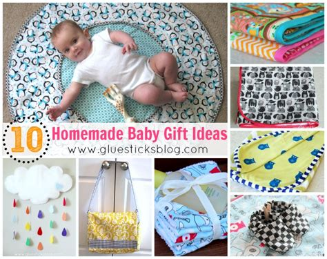 Handmade Gifts For New Baby - baby gift ideas gluesticks