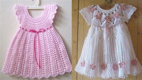 vestidos para bebes de tejido hermosos vestidos tejidos a crochet para bebes y ni 209 as
