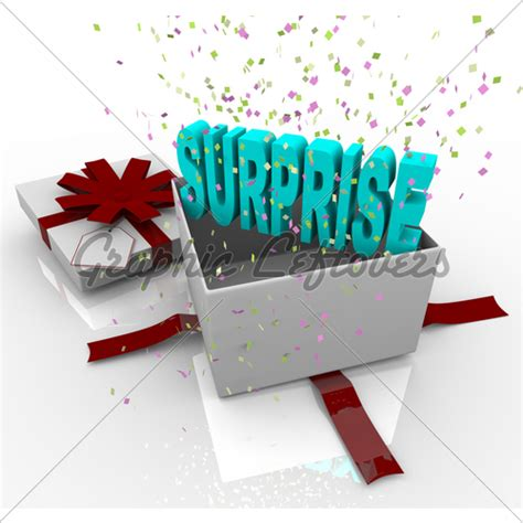 surprise present happy birthday gift box 183 gl stock images
