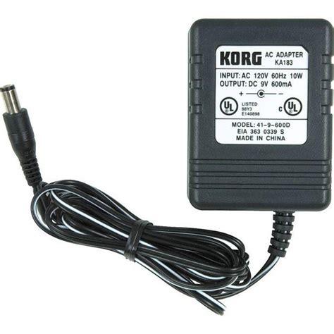 Adaptor Keyboard Korg Pa50 korg power adaptor mcquade musical instruments