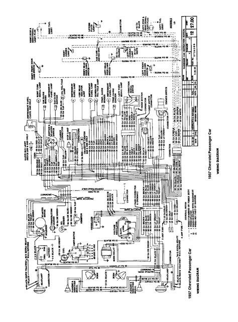 1957 chevy wiring harness diagram for horn wiring diagrams