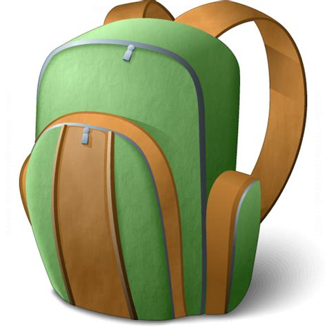IconExperience » V Collection » Backpack Icon