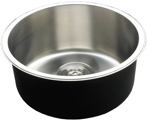 round sink bowl new round deep single bowl kitchen sink with timber