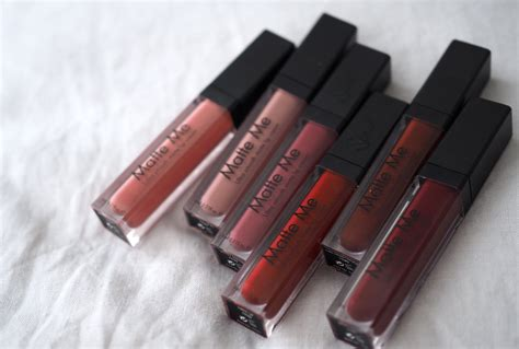 Sleek Matte Me By Etalasebunda sleek matte me liquid lipstick new shades swatches